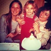 Mom, me and Grandma, December 23, 1977